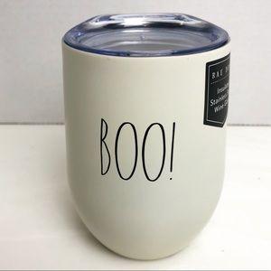 RAE DUNN Boo! Insulated Wine Tumbler